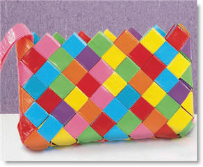 Duct Tape Clutch from Joann.com