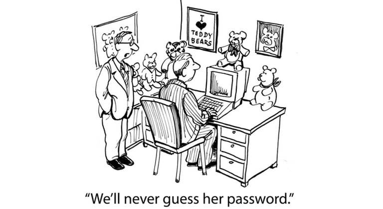 Teddy Bear (password safety)