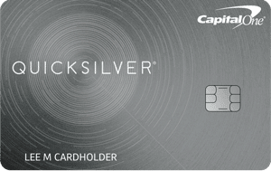 Quicksilver Card from Capital One